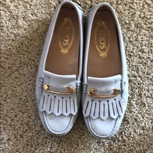 Tod's leather flats Gommino